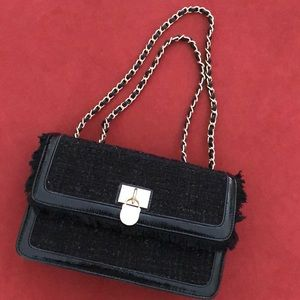 Anne Klein Black Purse NEW